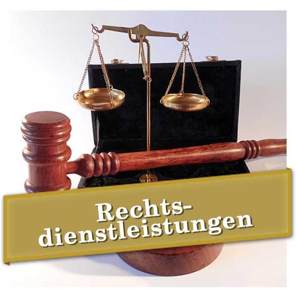 Rechtsdienstleistungen