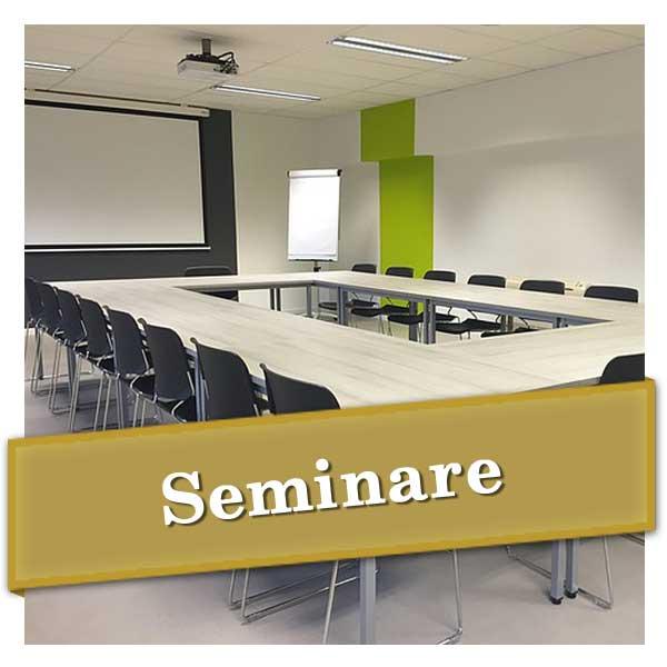Seminare, Workshops